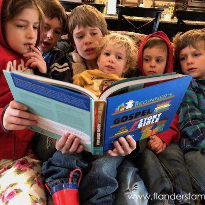Beginner's Gospel Story Bible (Timberdoodle Review)