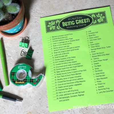 It's Not Easy Being Green Trivia Quiz