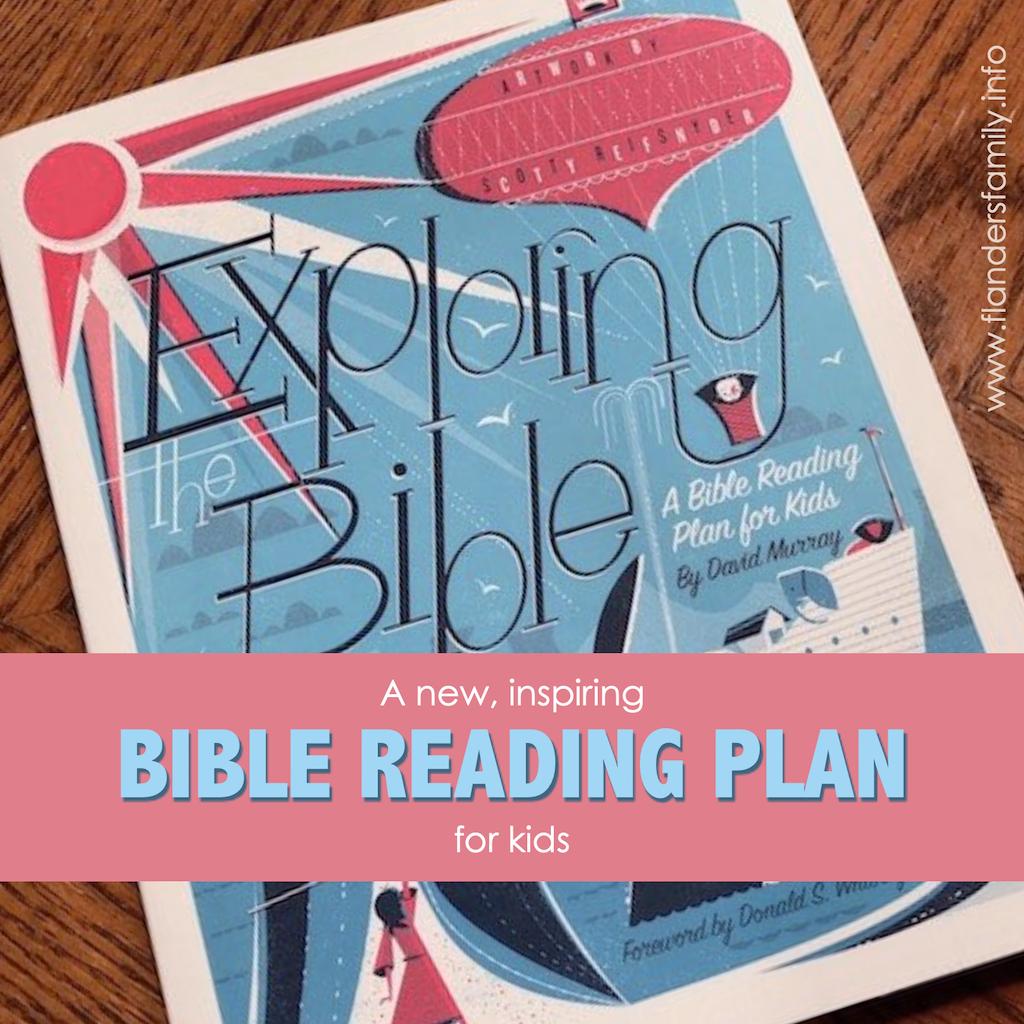 Bible Reading Plan for Kids