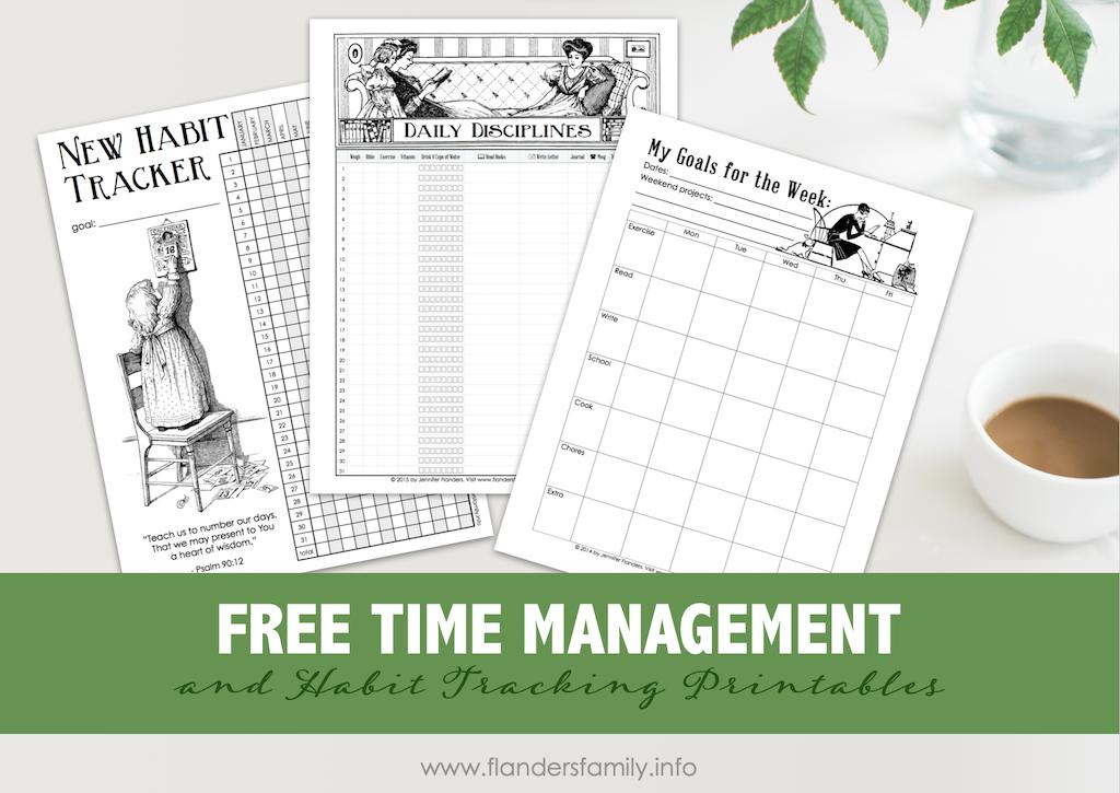 Time Management Printables