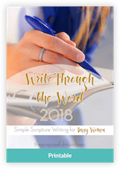 WriteThroughTheWord