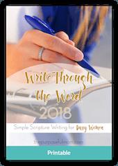 WriteThroughTheWord