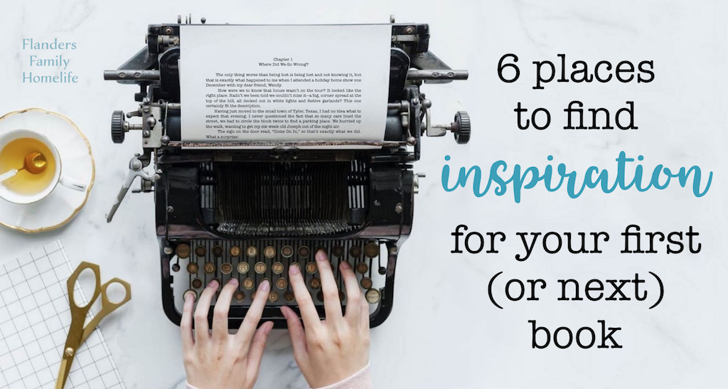 6 Places to Find Writing Inspiration