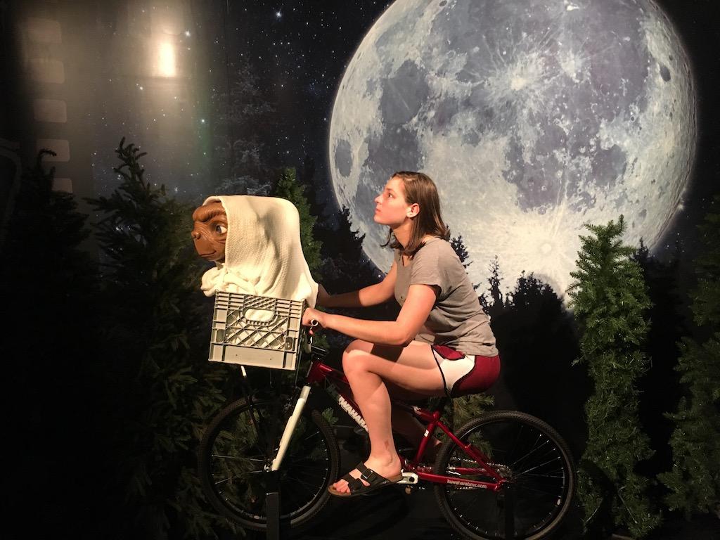 Biking with ET