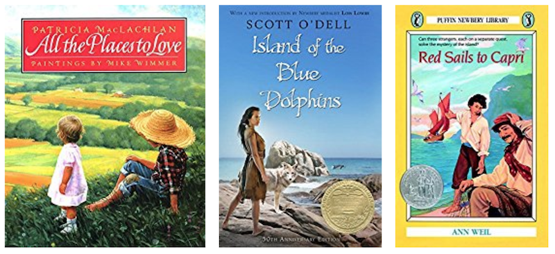 Books about the great Outdoors