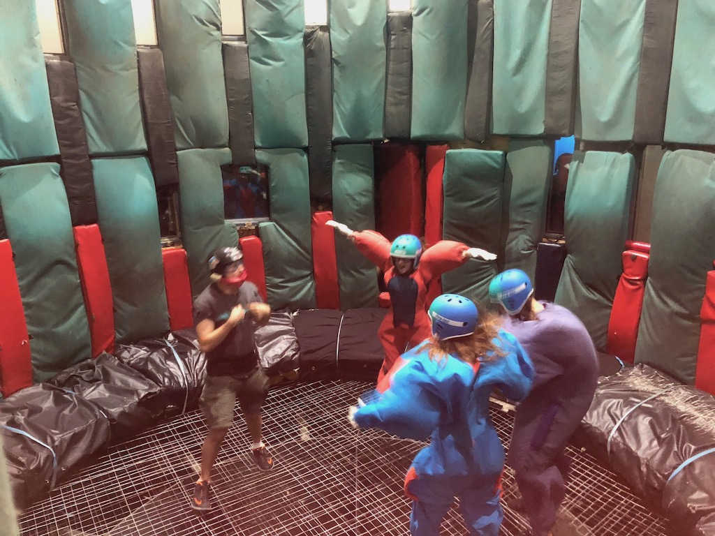 Flyaway Indoor Skydiving in Pigeon Forge, TN