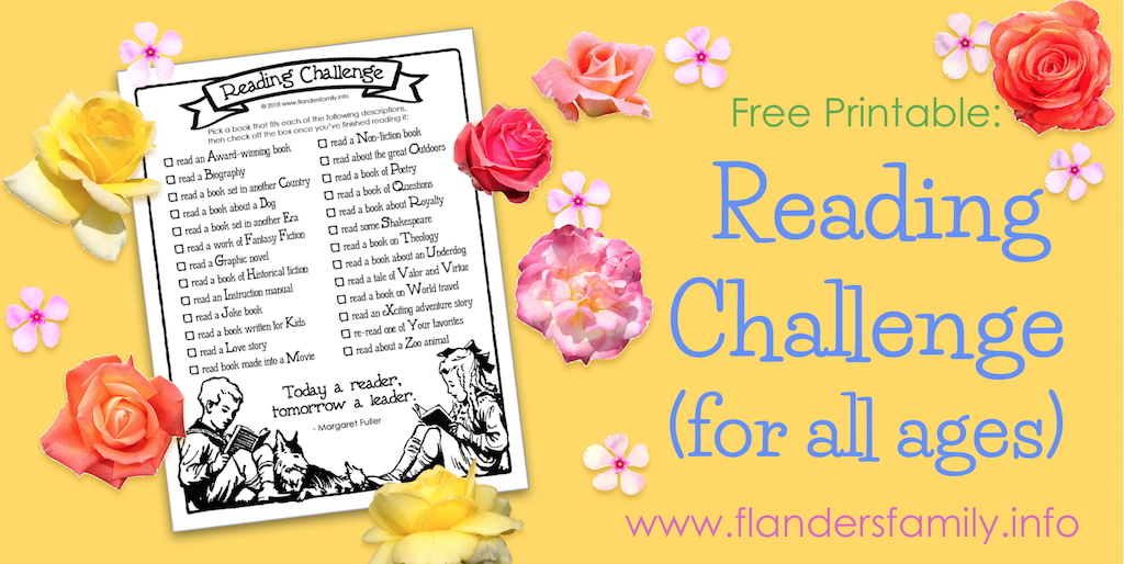 Reading Challenge for All Ages