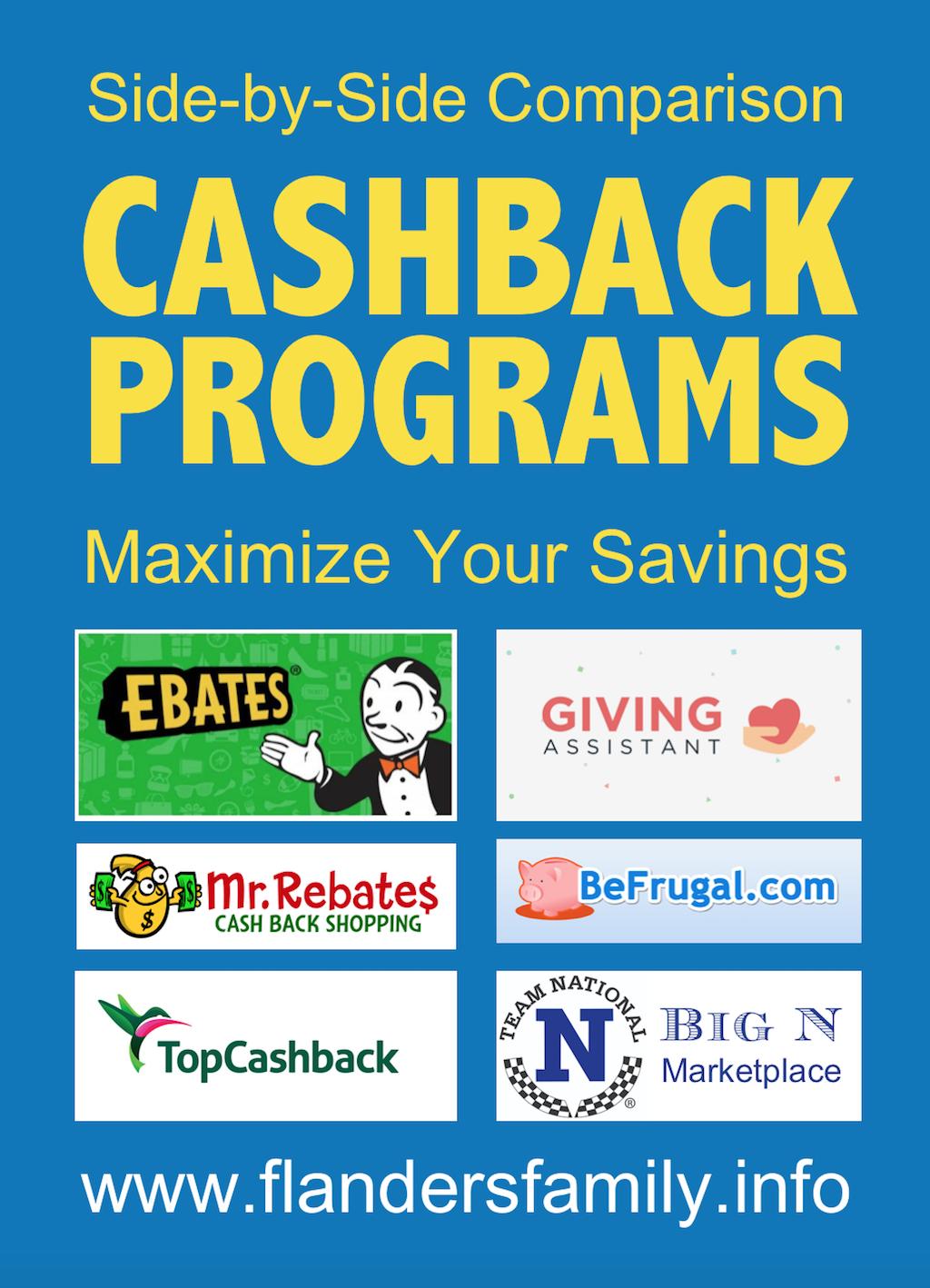 Cashback Program Comparison