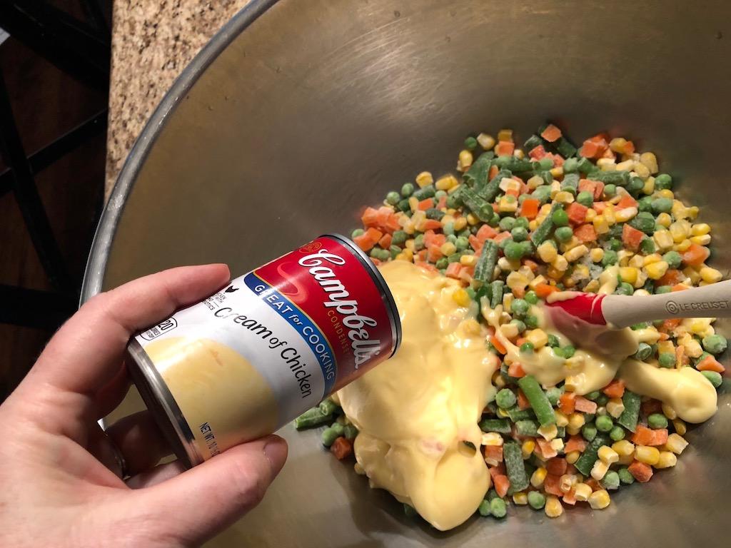 Super Easy Chicken Pot Pie