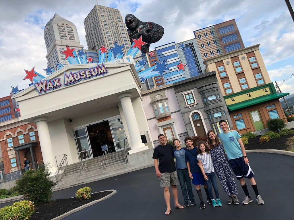 Hollywood Wax Museum in Pigeon Forge, TN