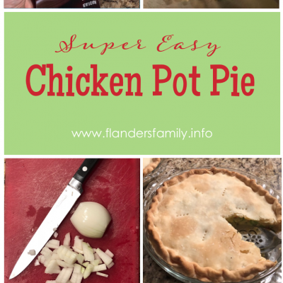 Super Easy Chicken Pot Pie
