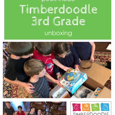 Timberdoodle 3rd Grade Curriculum: Unboxing