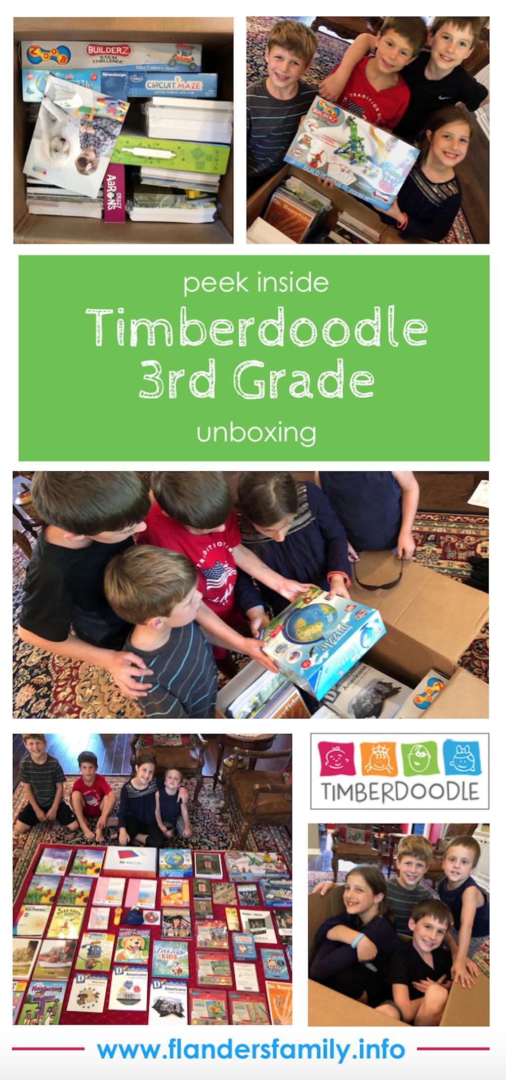 Timberdoodle 3rd grade