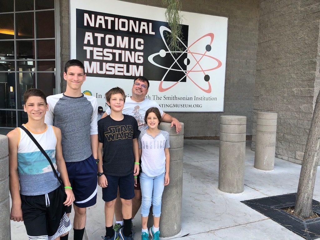 The Atomic Testing Museum in Las Vegas