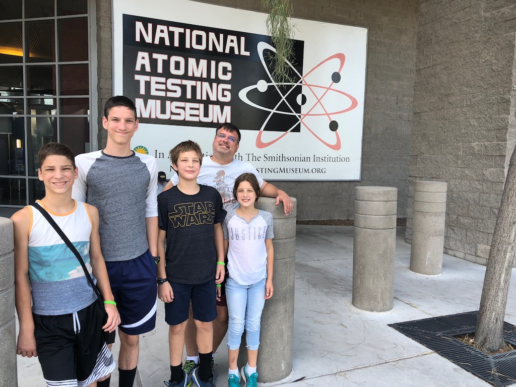 The Atomic Testing Museum in Las Vegas