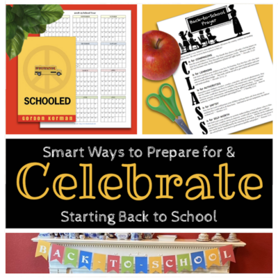 Smart Ways to Celebrate Starting Back to School
