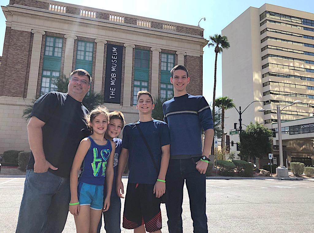 The Mob Museum in Las Vegas