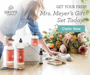 Get Your Free Gift Set from Mrs. Meyers