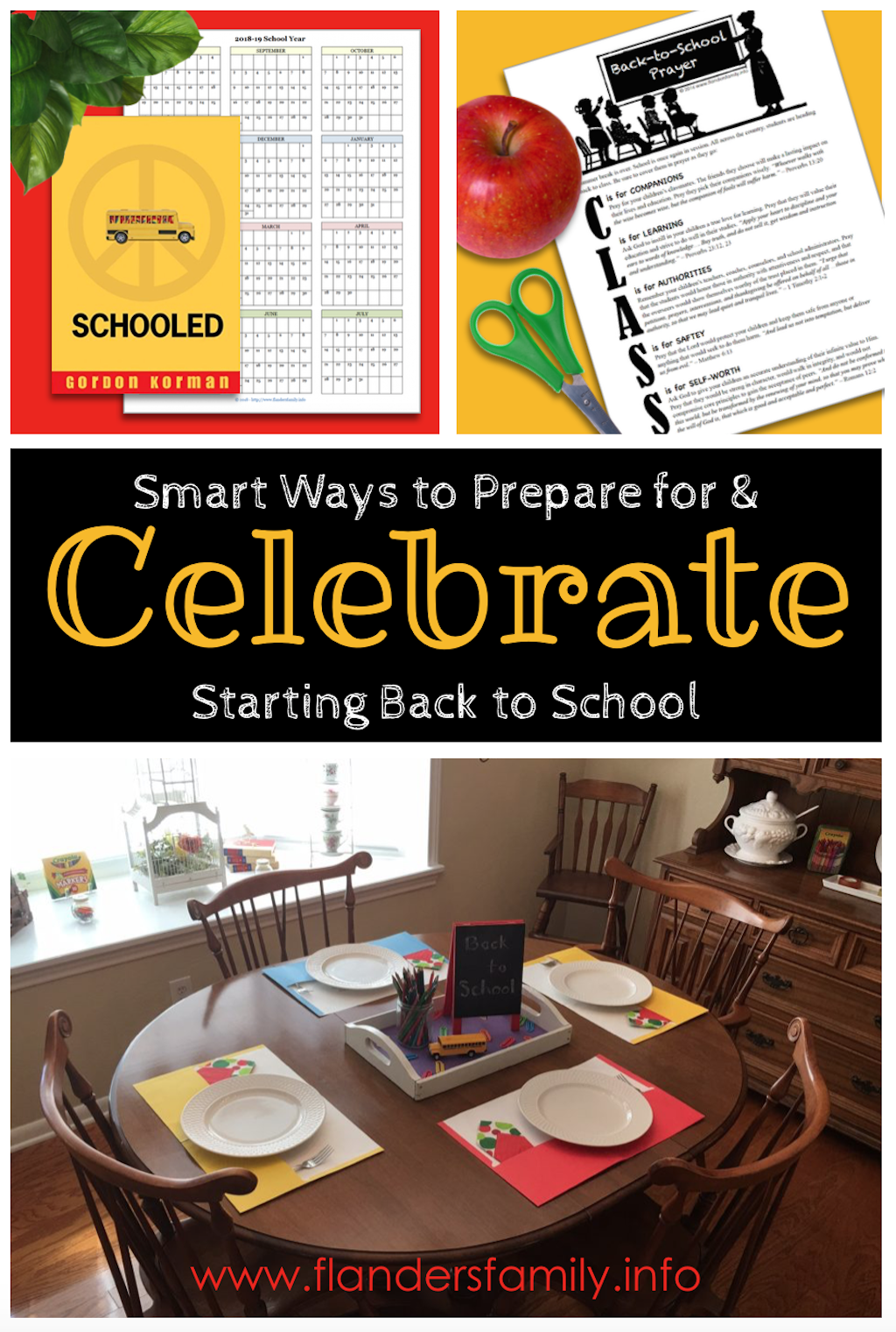 Smart Ways to Celebrate Starting Back to School