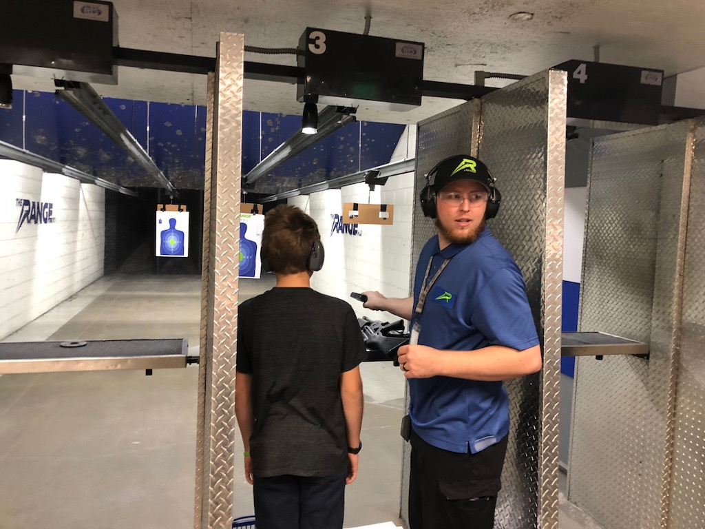 Gun Safety Training and Target Practice