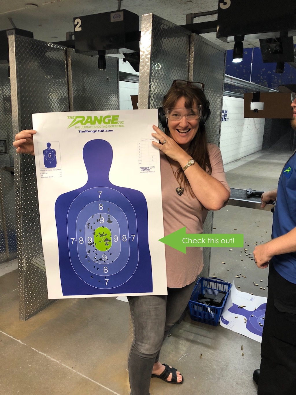 Gun Safety Training and Target Practice at Range 702 in Vegas