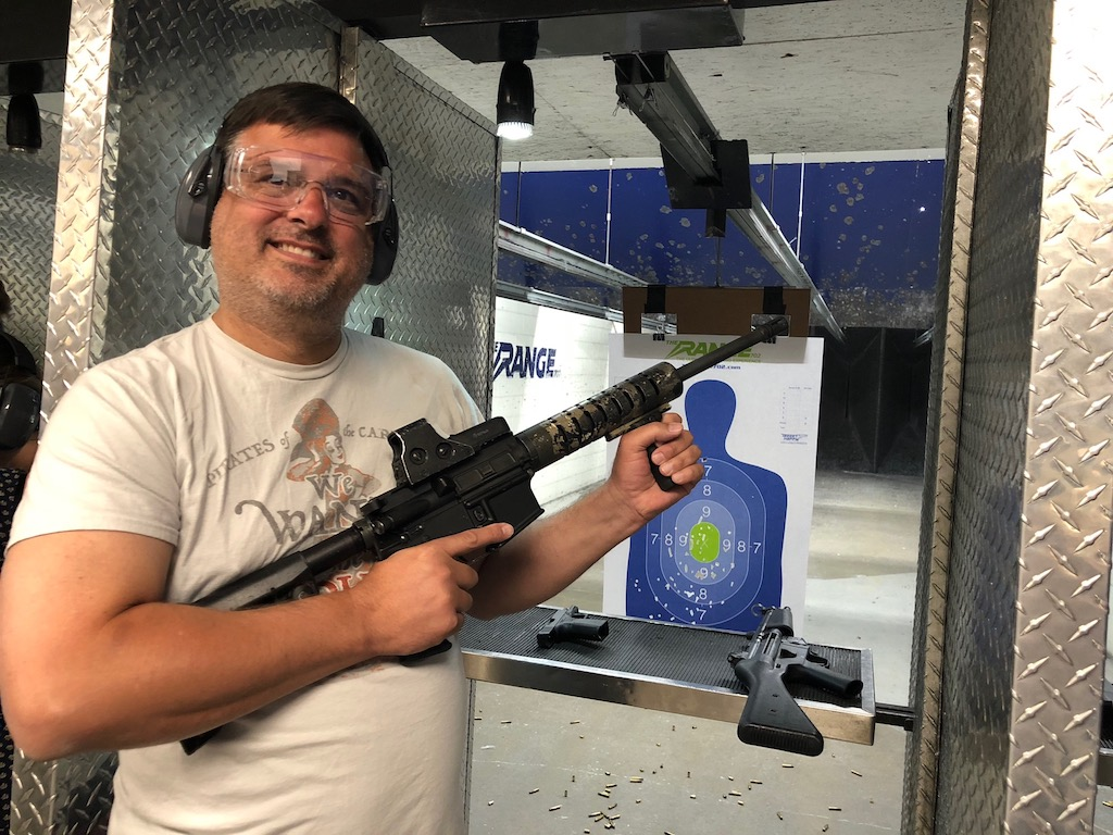 Gun Safety Training and Target Practice at Range 702 in Vegas