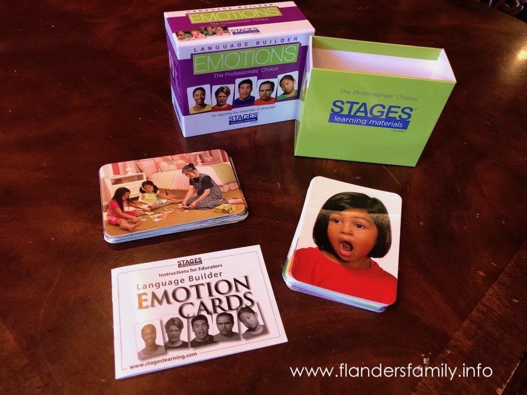 Stages: Emotions Cards