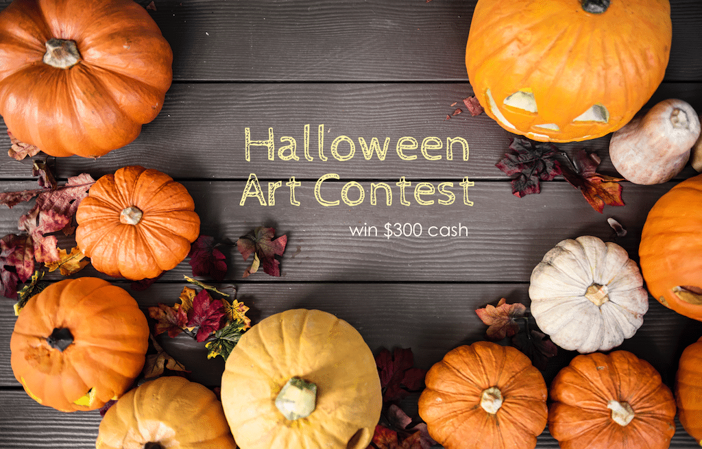 Halloween Art Contest