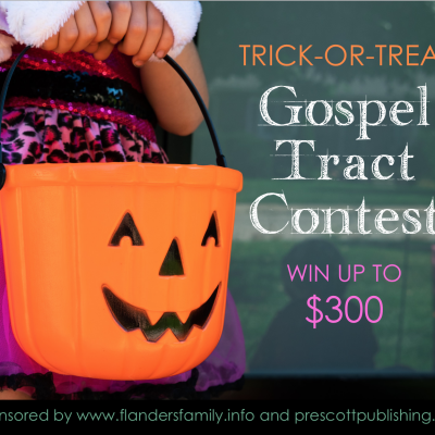 Share the Gospel and Win up to $300