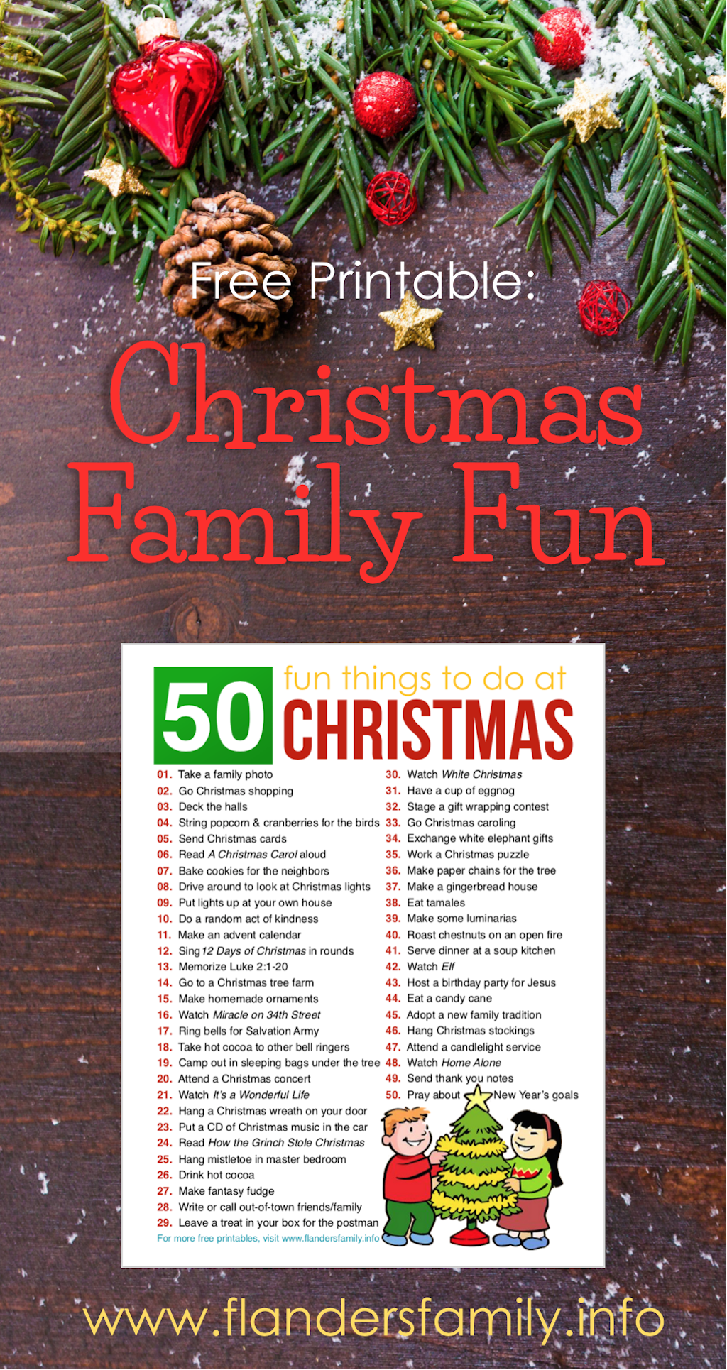 50 Fun Christmas Activities