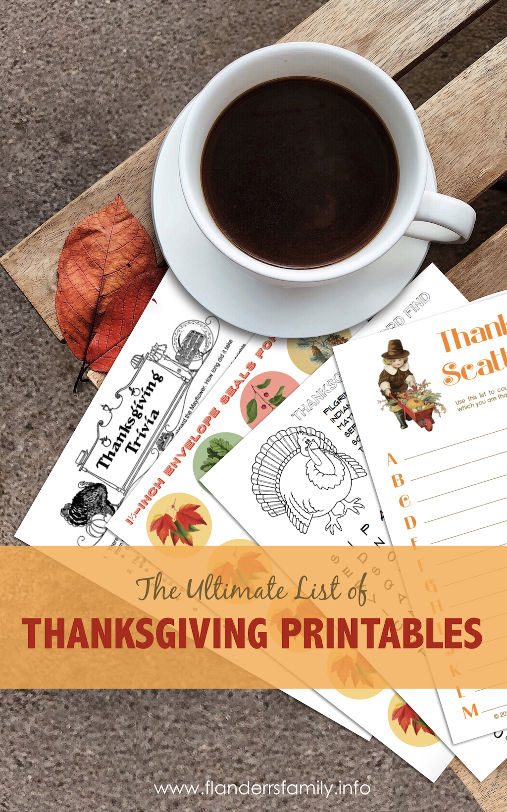 Ultimate List of Thanksgiving Printables