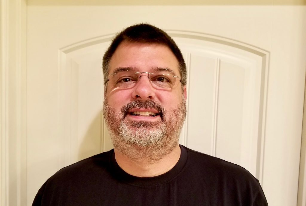 Doug with a beard