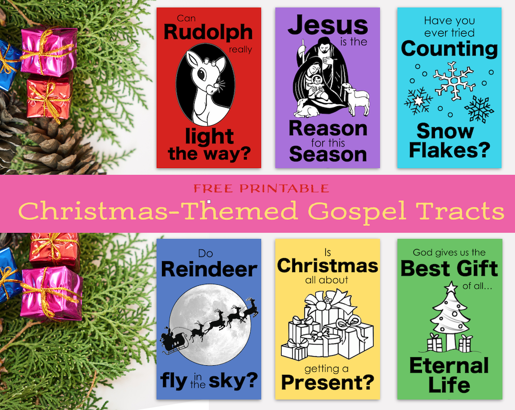 Christmas Gospel Tracts.Christmas Gospel Tracts Free Printables Flanders Family