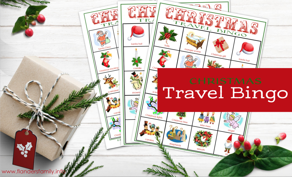 Christmas Travel Bingo