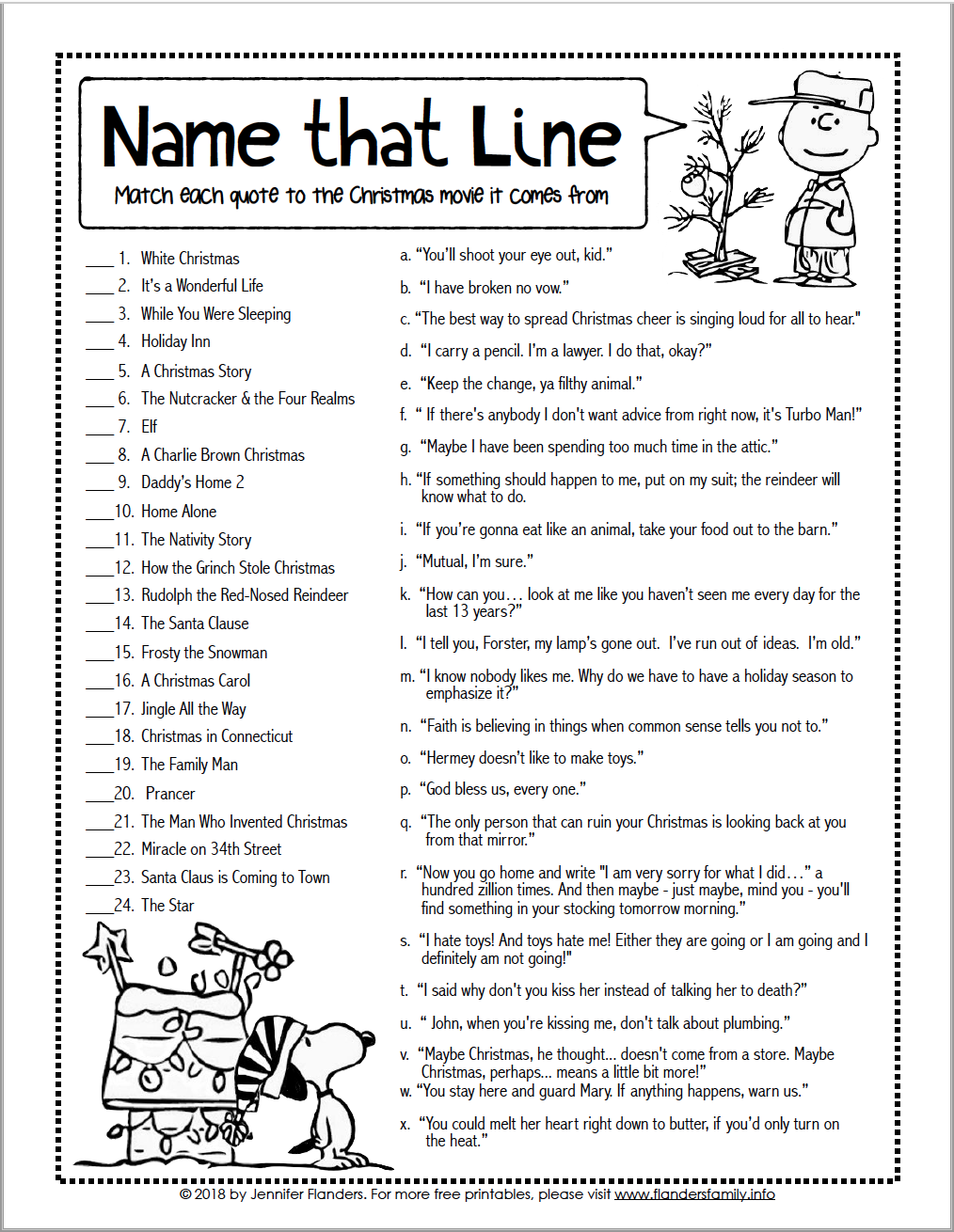 graphic about Christmas Carol Trivia Printable identify Status that Line\