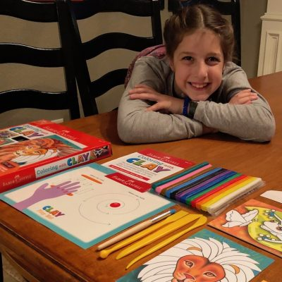 Timberdoodle Review - Coloring with Clay
