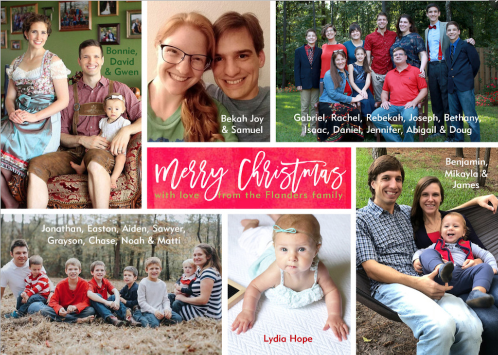 2018 Christmas Card - front