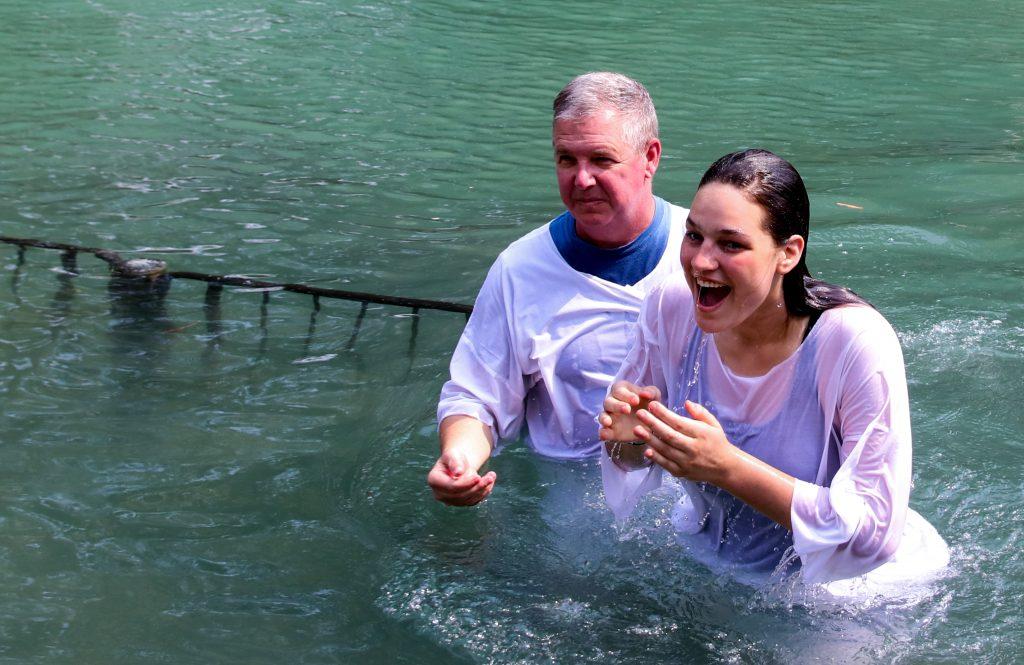 Bekah's Baptism