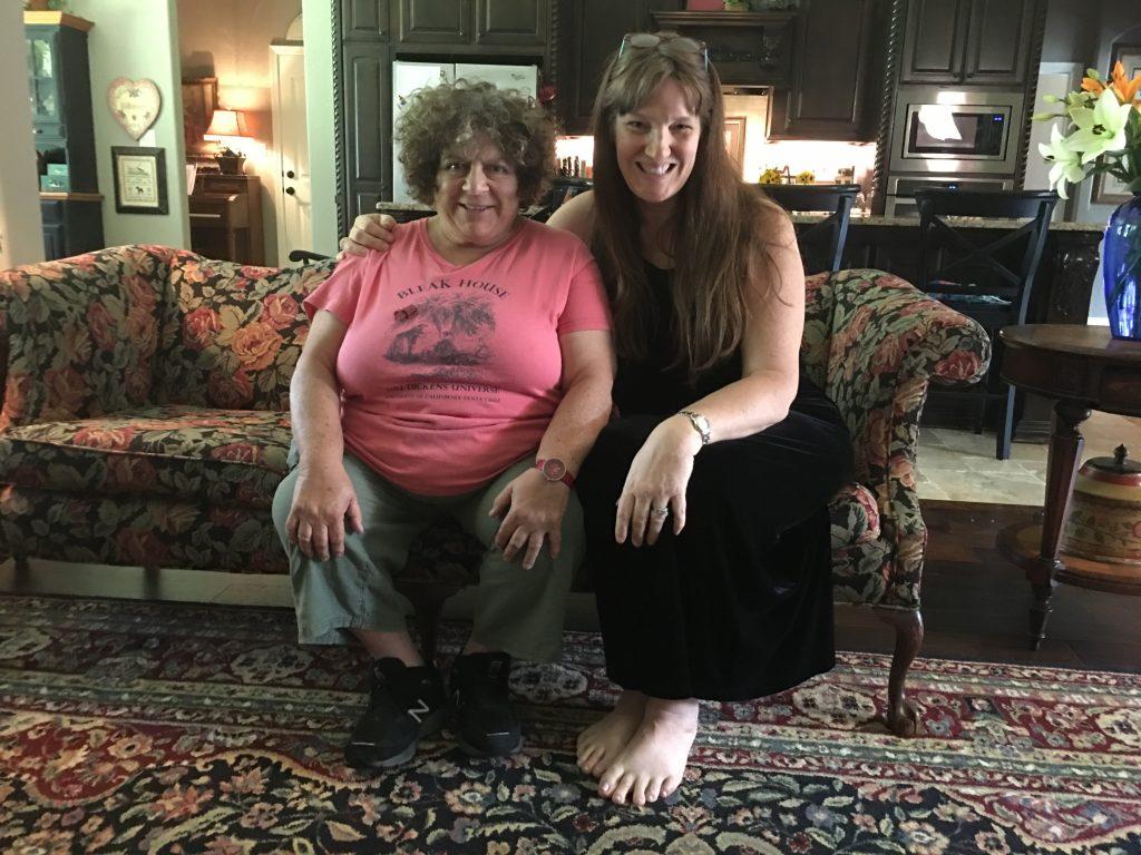 Miriam Margolyes and Jennifer Flanders