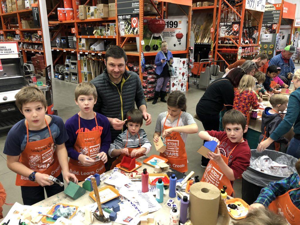 Kids Clinic with Grandkids