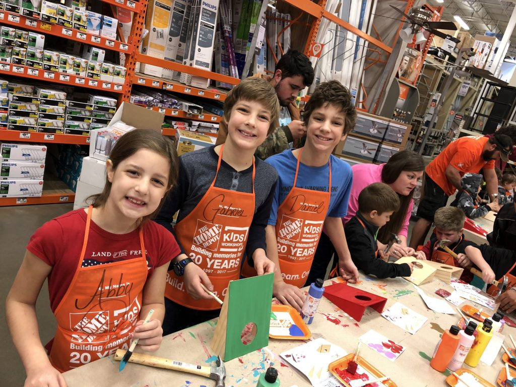 Home Depot Kids Clinic