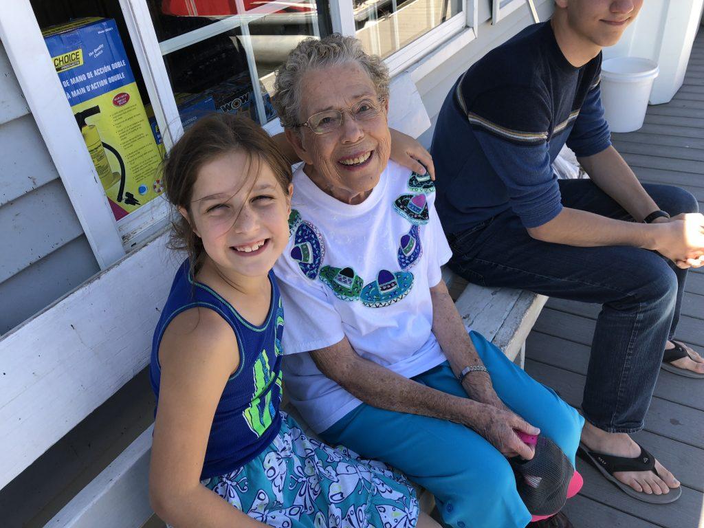 Abby and Grandma