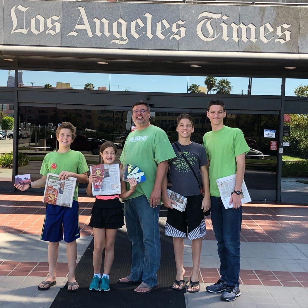 LA Times Printing Plant