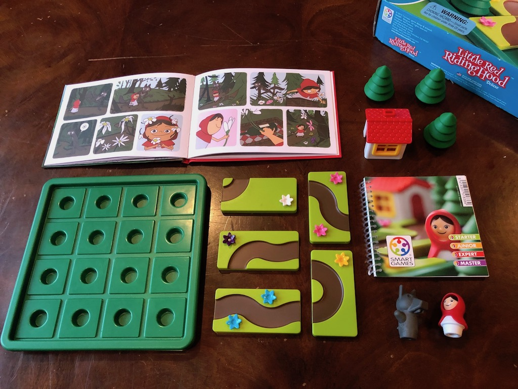 Little Red Riding Hood - Another Smart Game for Youngsters