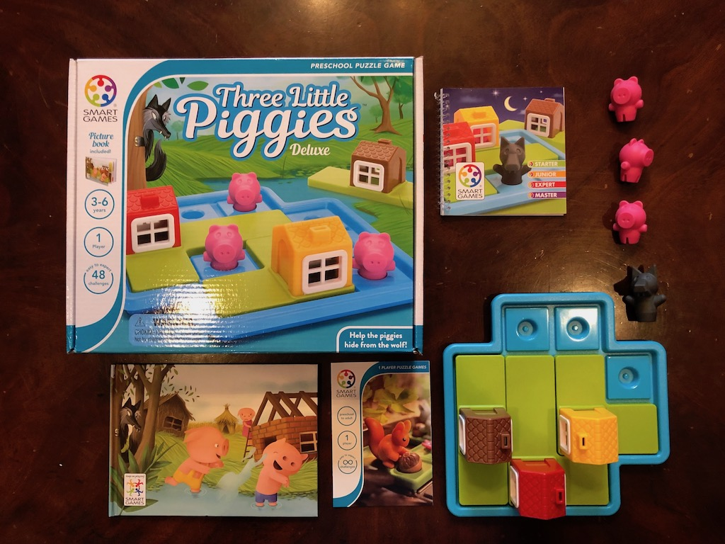 Three Little Piggies - Thinking Game for Young Children