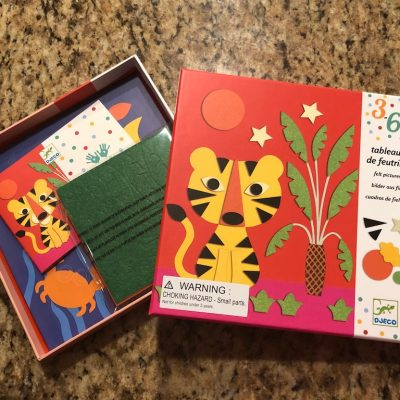 Djeco Sweet Nature Felt Art Set (Timberdoodle Review)