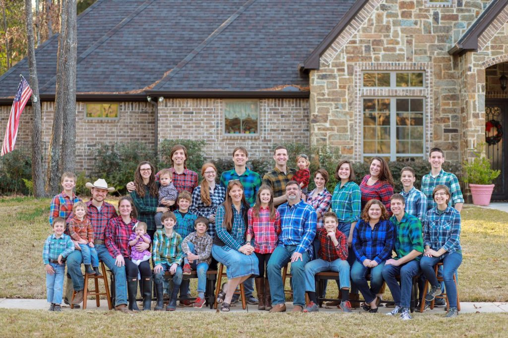 Flanders Family Flannel Photo