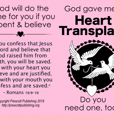 Gospel Tract for Valentine's Day