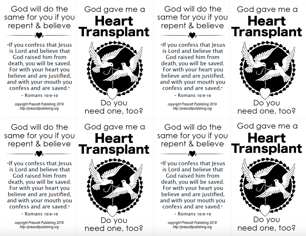 Valentine - Heart Transplant Tract