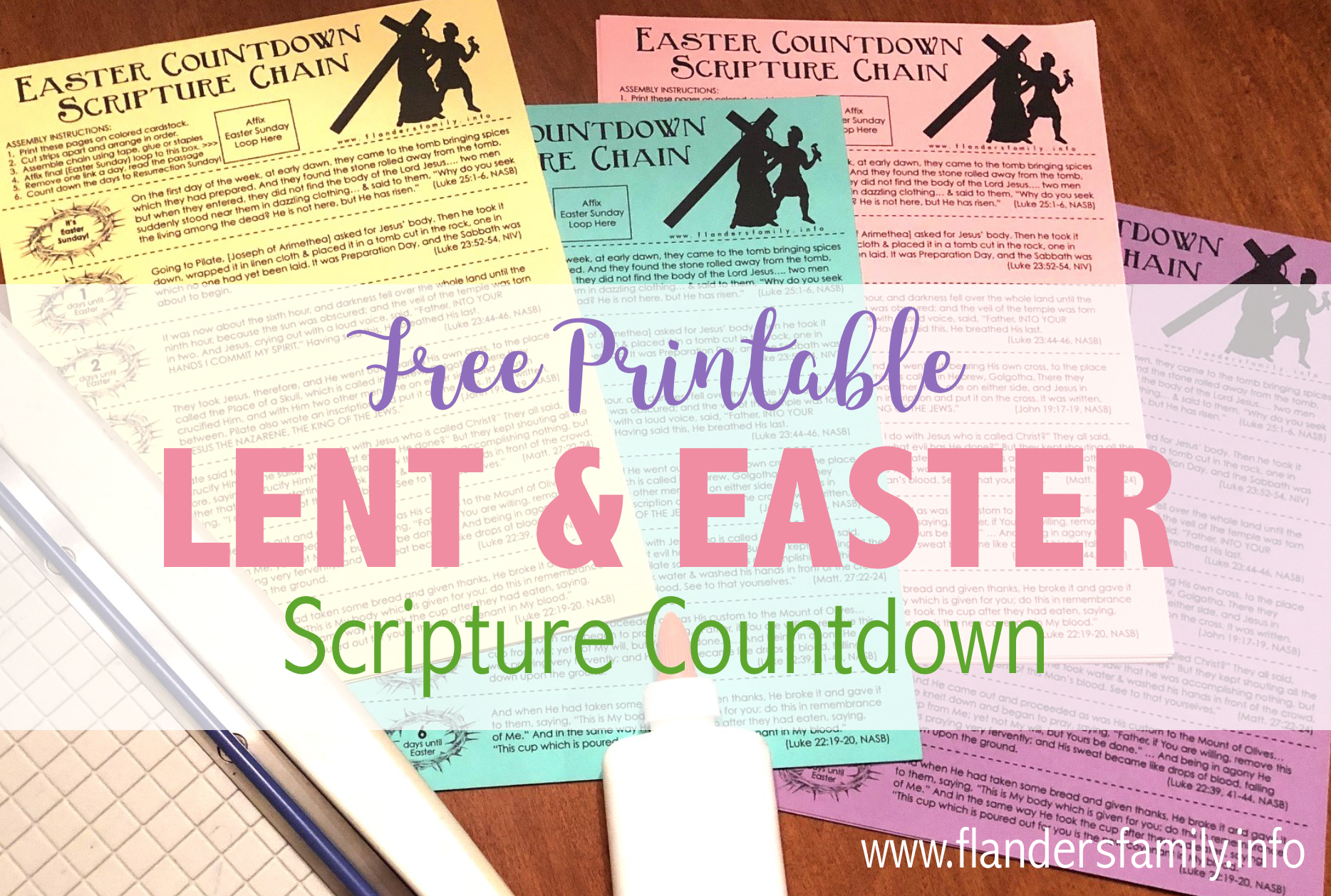 Download Scripture Chain: Countdown through Lent to Easter ...